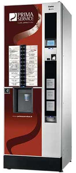 vantaggi di un distributore automatico di caffè
